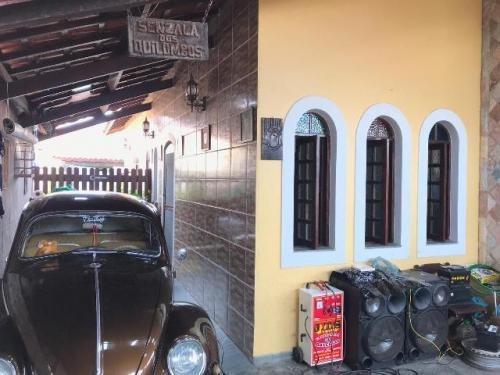 Excelente Casa No Gaivota, Itanhaém Lado Praia À 950m Do Mar