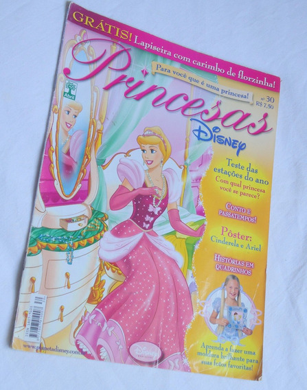 Revista Princesas Disney Nº 30 Editora Abril