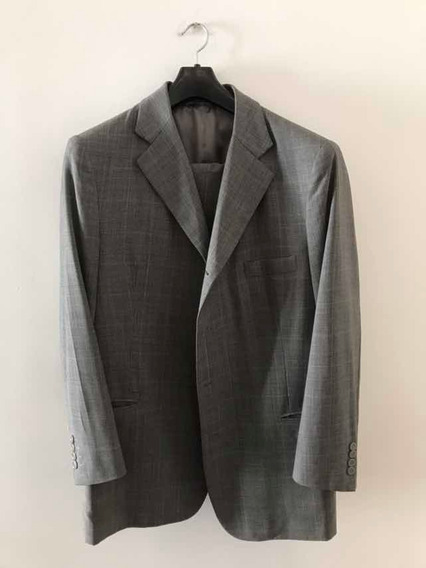 Terno Alfaiate Alta Costura Cinza Super 120