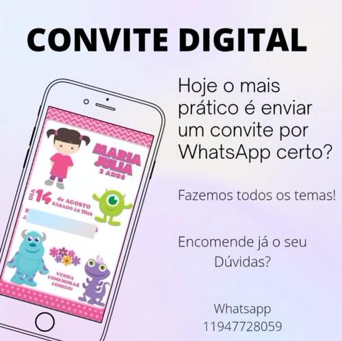 Imagem 1 de 1 de Convite Digital Envio Por Whatsapp