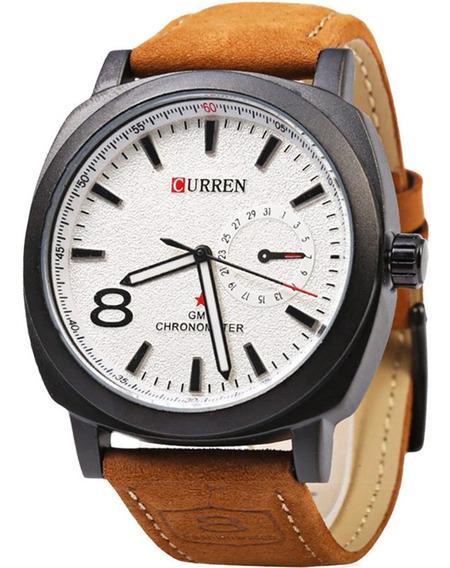 Relógio Masculino Curren Original Com Garantia E Nfe