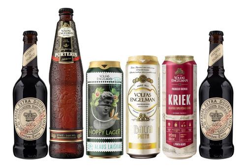6 Pack Baltico: Cervezas Lituanas Y Estonianas