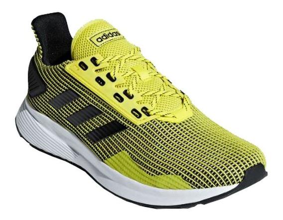 Tênis adidas Duramo 9 - Masculino - Amarelo/preto