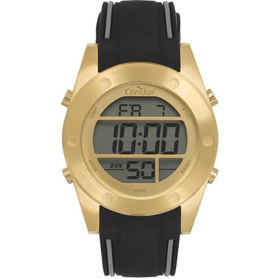 Relógio Condor Masculino Digital Dourado Cobj3463af/3d - Nf