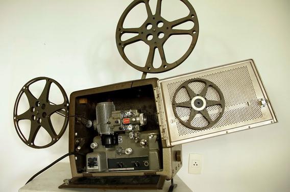Projetor 16mm Bell & Howell Em Perfeita Condição!! Portátil!