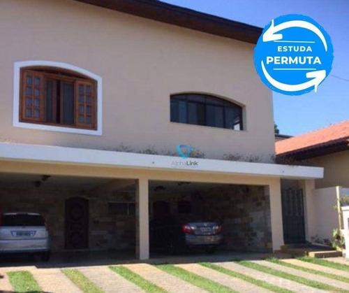 Casa Com 5 Dormitórios À Venda, 576 M² Por R$ 2.000.000,00 - Alphaville 06 - Santana De Parnaíba/sp - Ca0543