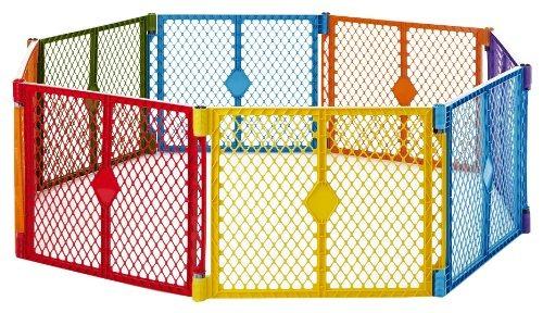 Imagen 1 de 5 de North States Superyard Colorplay 8 Panel Playard