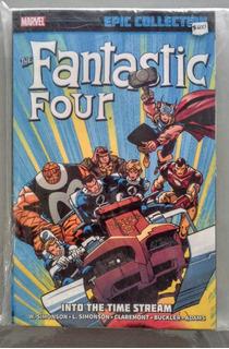 Comic Fantastic Four Into The Time Stream - Tpb Pasta Blanda