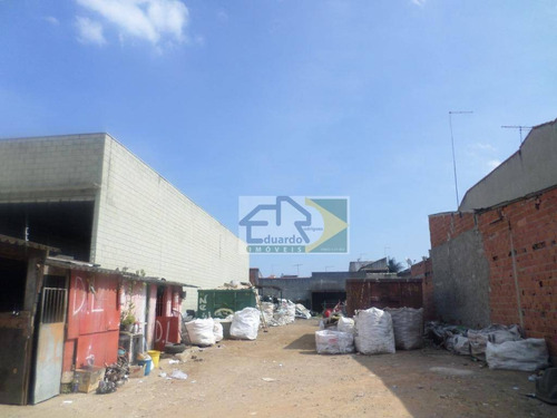 Terreno À Venda, 600 M² Por R$ 550.000,00 - Vila Urupês - Suzano/sp - Te0039