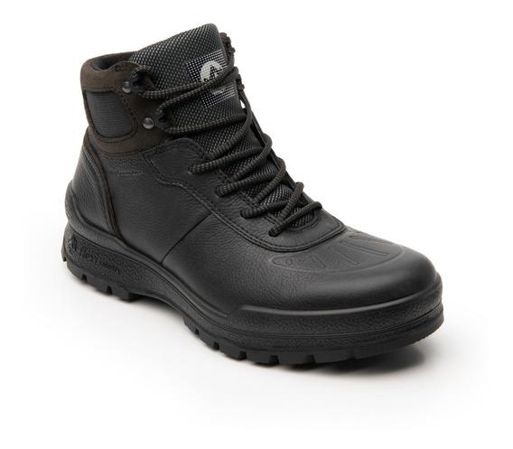 Zapato Botin Flexi Hombre 406002 Negro