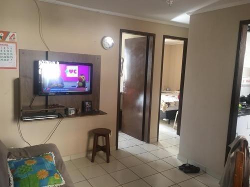 Apartamento No Litoral Com 2 Quartos Em Itanhaém/sp 6446-pc