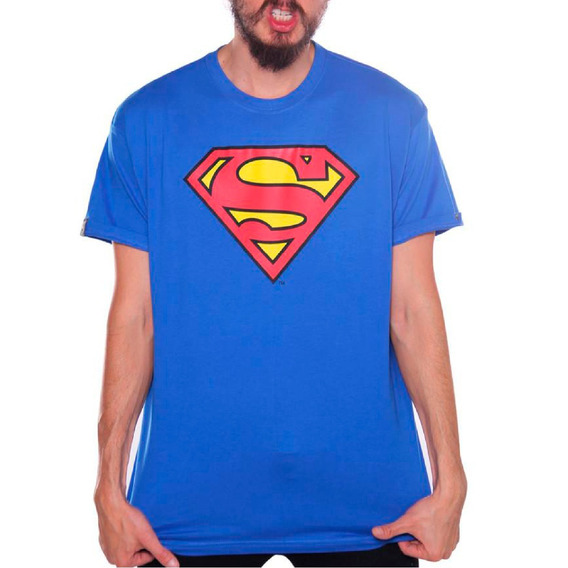 Playera Logo Superman Dc Comics