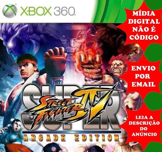 Super Street Fighter 4 Arcade Edition Xbox 360 Midia Digital