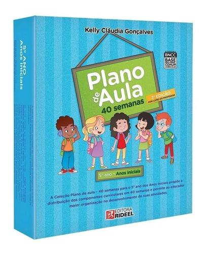 Coleção Plano De Aula 5º Ano - 40 Semanas