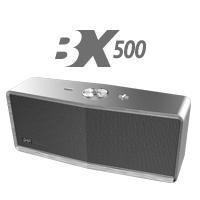 Bocina Bluetooth Bx500g Ghia Gris / 5w X2 / Tws //aux / Radi