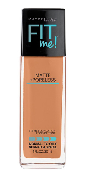 Base Matificante Fit Me Tono 338 Spiccy Brown Maybelline