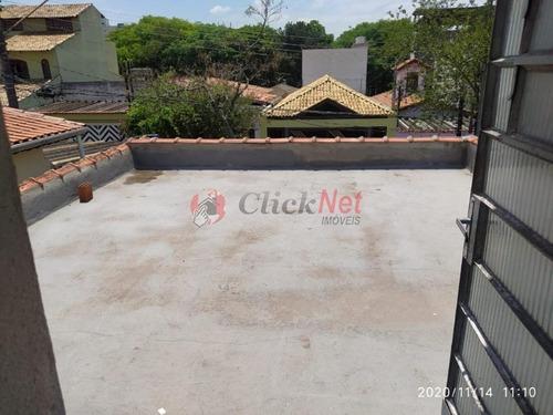 Imagem 1 de 13 de Casa Antiga Em Terreno De 140 M² De Área, Localizado No Bairro De Rudge Ramos, São Bernardo Do Campo. - 7286