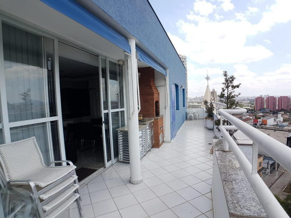 Cobertura Mobiliada Com 3 Dormitórios À Venda Ou Locação, 132 M² Por - Casa Verde - São Paulo/sp - Co0090