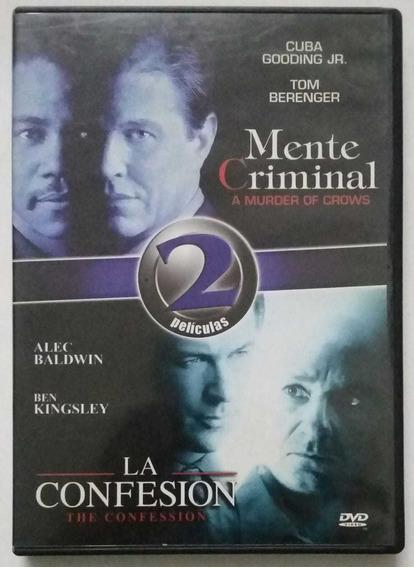 Dvd Mente Criminal Cuba Gooding Y La Confesion Alec Baldwin