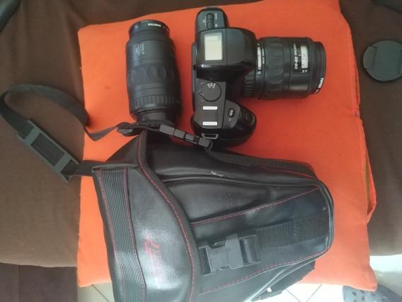Máquina Fotográfica Analógica Pentax Pz-70 Em Ótimo Estado