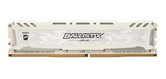 Memoria Ram Crucial Ballistix Sport White 8gb Ddr4 3200 Mhz