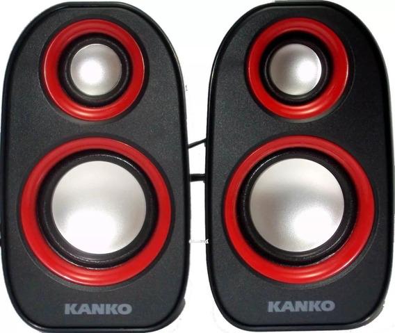 Caixa De Som Para Pc/note/tablet/celular Kanko