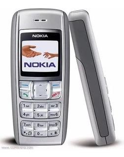 Celular Que Fala A Hora Barato Nokia 1600 Bom Para Idoso Original Usado