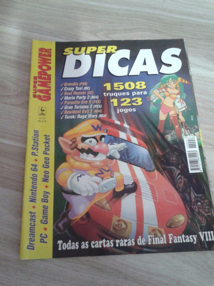 Revista Super Game Power Super Dicas Nº24