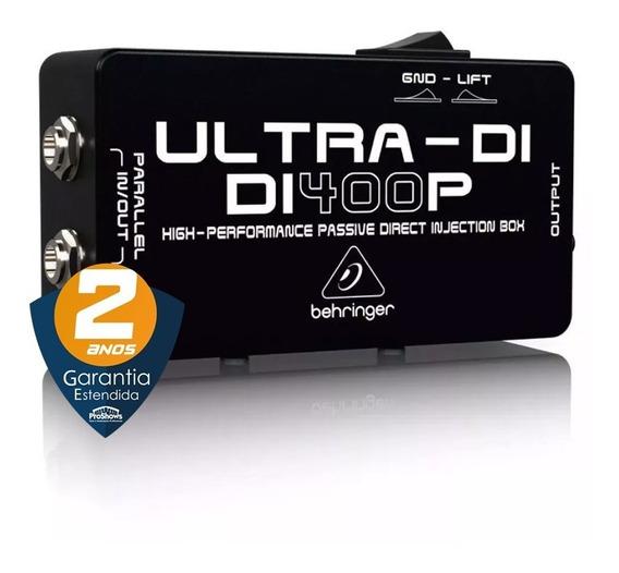 Direct Box Passivo Di400p Behringer Guitarra Baixo