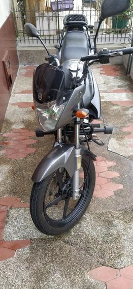Moto Yamaha Ybr 125 2014 Gris Excelente Estado Libero