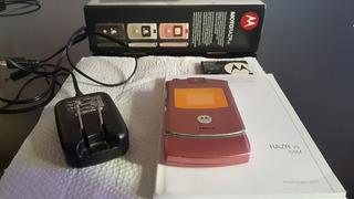 Motorola V3 Razr Rosa Chip Funcionando Completo - Vivo