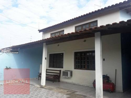 Imagem 1 de 19 de Casa Com 3 Dormitórios À Venda, 158 M² Por R$ 400.000 - Jardim Jamaica - Itanhaém/sp - Ca1466