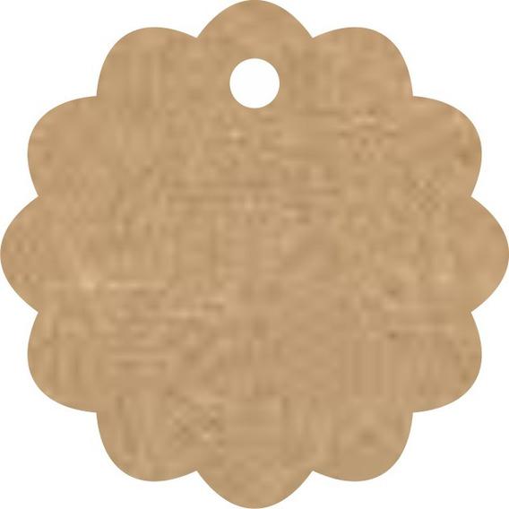 Tags Escalope Kit S/sisal Para 140 S/impr. E 200 C/impressão