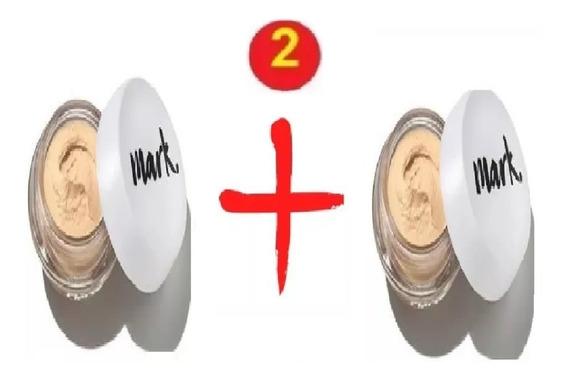 2 Base Mousse Nude Matte Mark 18g Avon Bege Medio