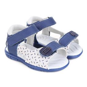 Sandália Infantil Pimpolho Estampada Velcro