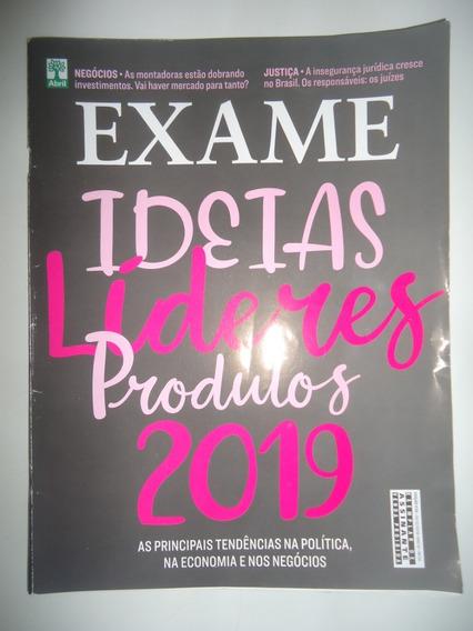 Exame #1176 Dez-2018 Ideias Líderes Produtos 2019