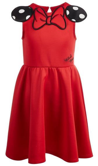 Hermoso Vestido Minni Disney Original 4 Años
