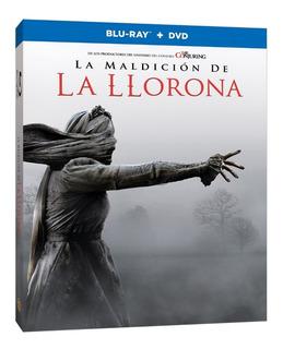 Blu Ray + Dvd La Maldición De La Llorona