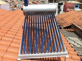Aquecedor Solar 15 Tubos Vacuo 200 L Atende 5á 6 Banhos Dia