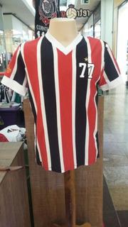 Camisa Listrada Em Homenagem Ao Campeão Brasileiro De 1977