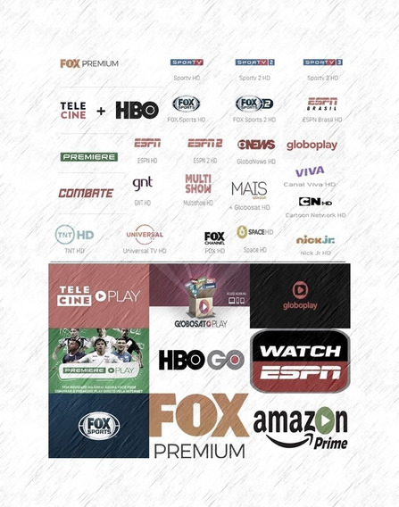 O Melhor Com Qualidade ( Fox Play Tele & Mais )2020 12 Mês!