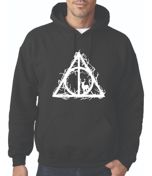 Sudadera Las Reliquias De La Muerte Mundo De Harry Potter