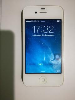 iPhone 4 Memoria 8 Gb Sin Icloud Detalle Boton Home