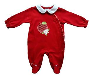 Macacão Longo Bebê Menina - Apple - Anjos Baby