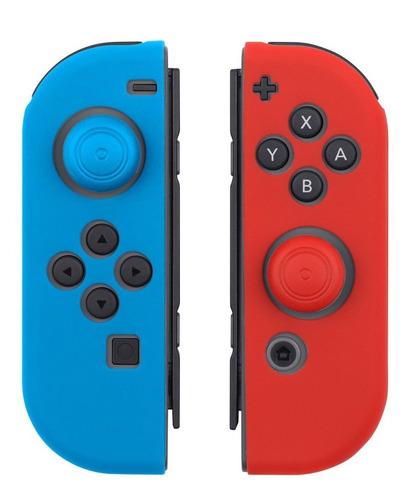 Imagen 1 de 5 de Protector De Silicona Para Joy-con Nintendo Switch