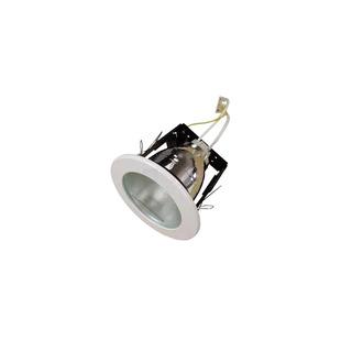 Spot Embutir Trompa 1 Luz Blanco Vidrio Satinado E27 Led