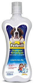Shampoo Condicionador Para Cachorro Anti - Pulga 500ml