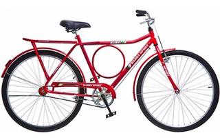Bicicleta Barra Sport Vermelho Freio Varão Colli Bike