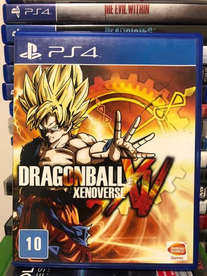 Jogo Ps4 Dragon Ball Xenoverse Mídia Física Original Veja!