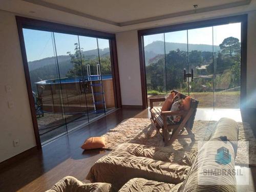 Imagem 1 de 17 de Casa/chacara Em Valinhos - Ca1551